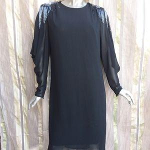 Dresses & Skirts - 3 for $25 Large Cocktail Dress Black Long Sleeve